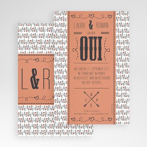Hochzeitskarten Querformat - Pia Liberty 50333 test