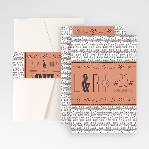 Hochzeitskarten Querformat - Pia Liberty 50334 test