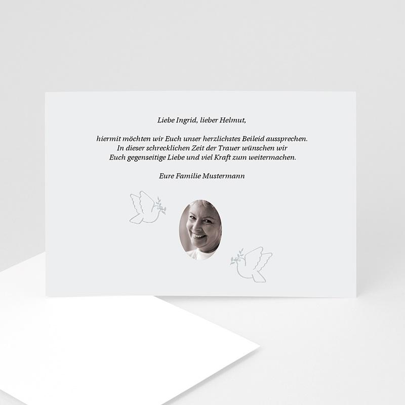 Weltlich Dankeskarten Trauer Dawud