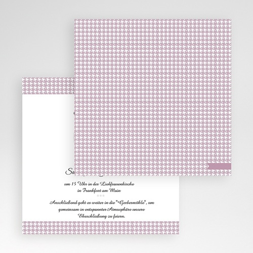 Hochzeitskarten Quadratisch - Lady 50354 preview