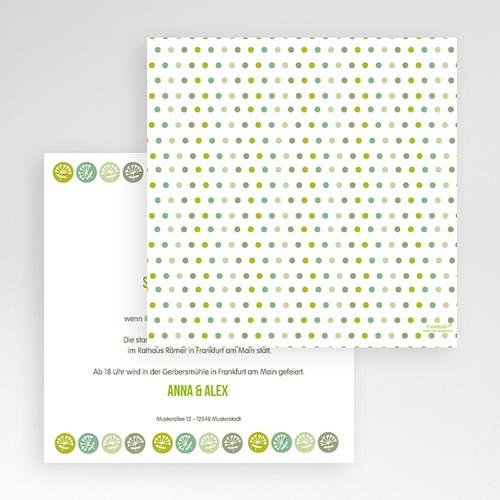 Hochzeitskarten Quadratisch - Naturverliebt  50362 preview