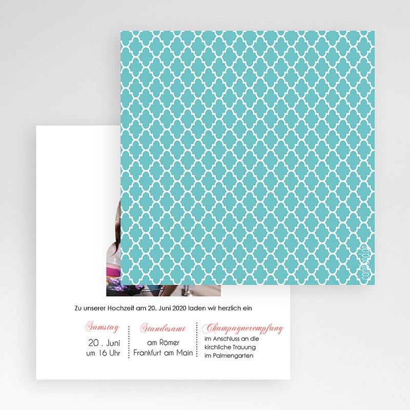 Hochzeitskarten Quadratisch 1001 Nacht