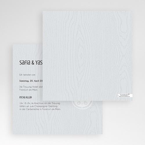 Hochzeitskarten Quadratisch - Tamina 50380 test
