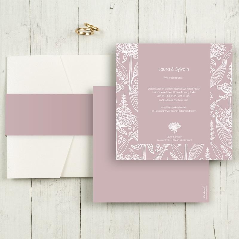 Hochzeitskarten Quadratisch - Paola 50385 thumb
