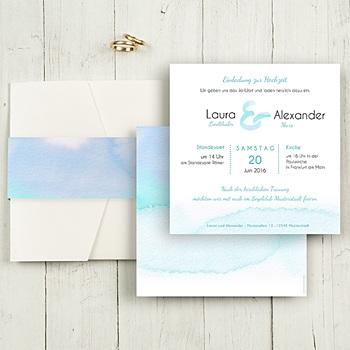 Hochzeitskarten Quadratisch - Aquae Sextiae - 5