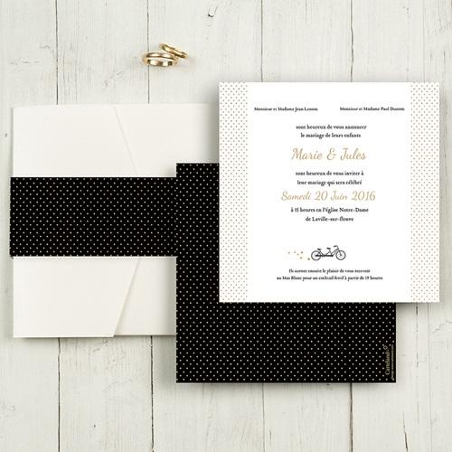 Hochzeitskarten Quadratisch - Tandem 50427
