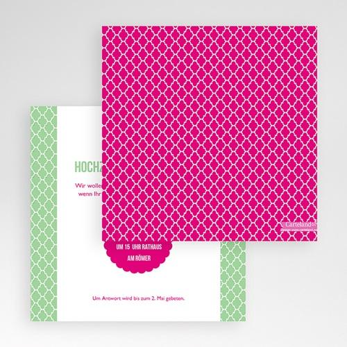 Hochzeitskarten Quadratisch - Minztee 50431 preview