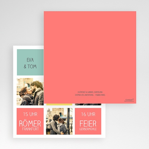 Hochzeitskarten Quadratisch - Gute Laune 50433 preview
