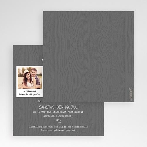 Hochzeitskarten Quadratisch - Fotoroman 50443 test