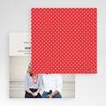 Hochzeitskarten Quadratisch - Vintage Rot 50447 test