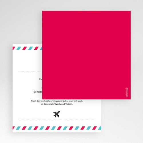 Hochzeitskarten Quadratisch - Airlines 50450 preview