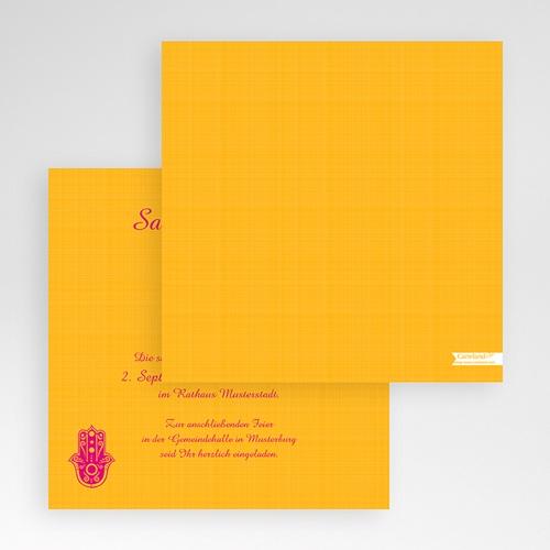Hochzeitskarten Quadratisch - Zauberhaft 50456 test