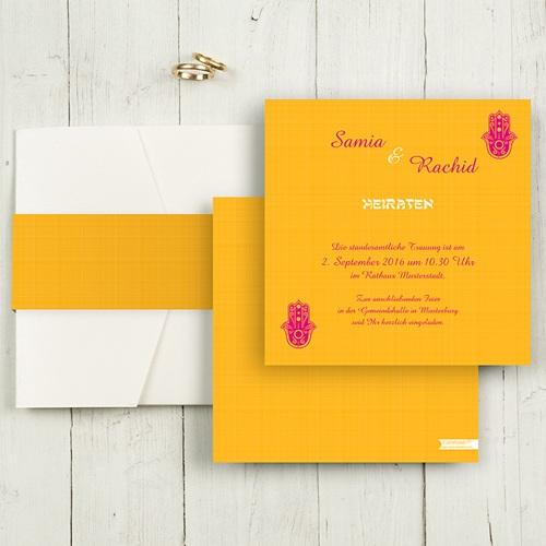 Hochzeitskarten Quadratisch - Zauberhaft 50457 test