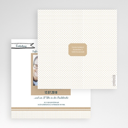Hochzeitskarten Quadratisch - Detailverliebt 50460 preview
