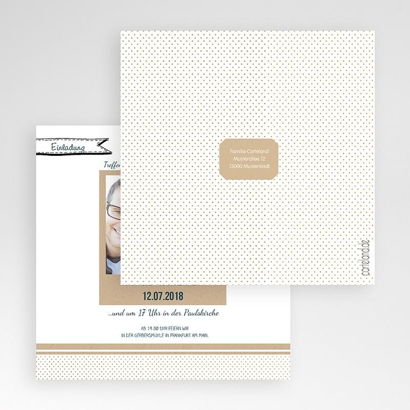 Hochzeitskarten Quadratisch Detailverliebt