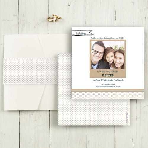 Hochzeitskarten Quadratisch - Detailverliebt 50461