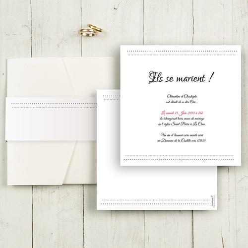 Hochzeitskarten Quadratisch - Edel und schön 50465 test