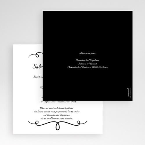 Hochzeitskarten Quadratisch - Eleganz schlicht pur 50468 preview
