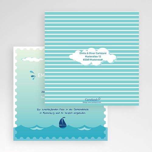 Hochzeitskarten Quadratisch - An Bord 50484 preview