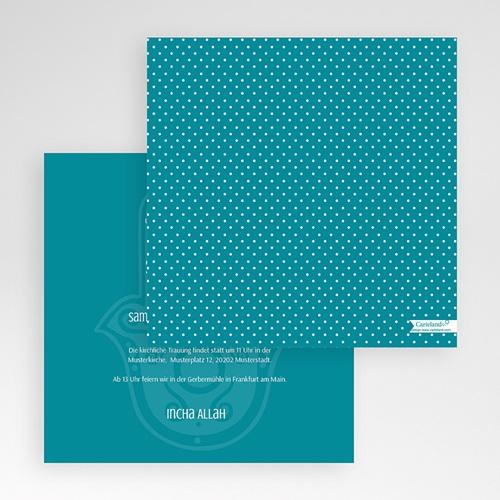 Hochzeitskarten Quadratisch - Kashmira 50486 preview
