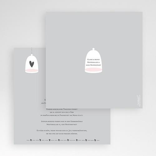 Hochzeitskarten Quadratisch - Malta 50488 test