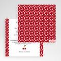 Hochzeitskarten Quadratisch - Rote 50493 test