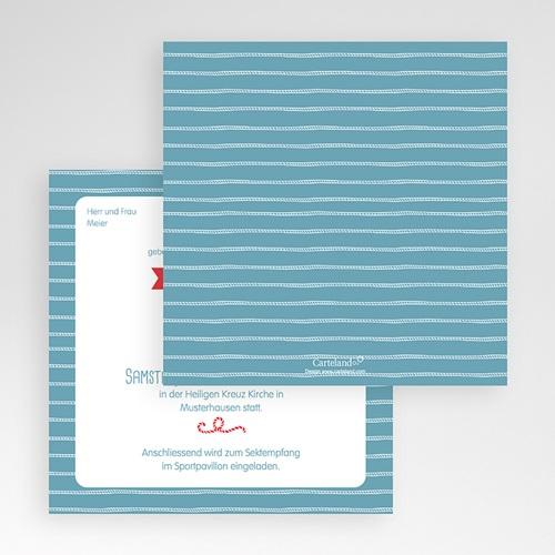 Hochzeitskarten Quadratisch - Hafen der Ehe 50495 preview