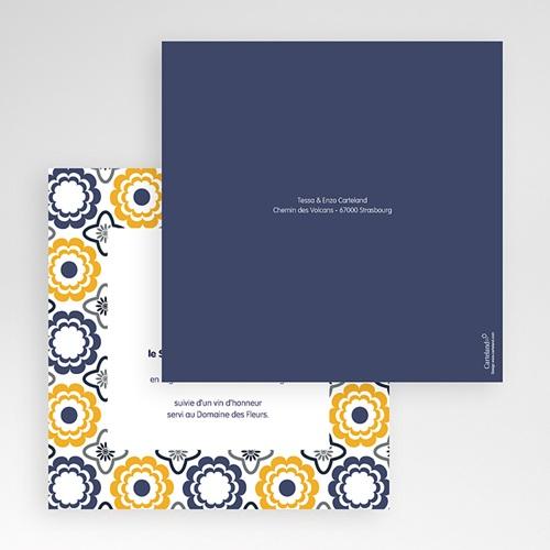 Hochzeitskarten Quadratisch - Azulejo 50503 preview