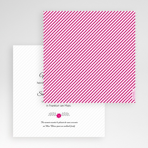 Hochzeitskarten Quadratisch - Just us 50505 preview
