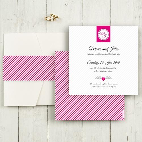 Hochzeitskarten Quadratisch - Just us 50506