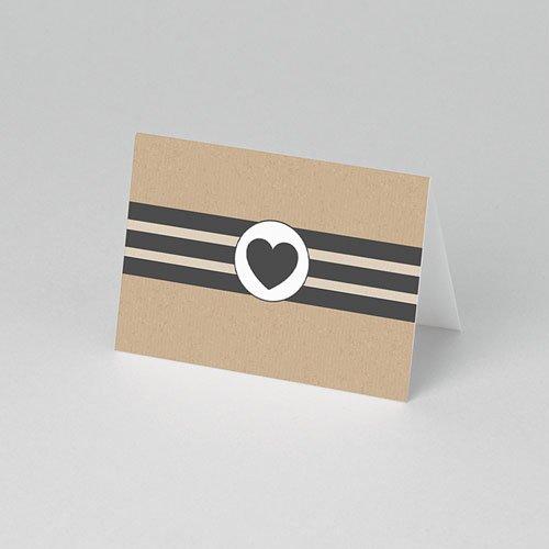 Tischkarten Hochzeit - Blush 50549 test