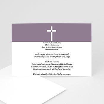 Trauer Danksagung christlich Betende Hände
