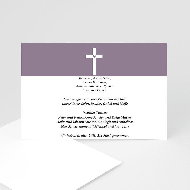 Christlich Dankeskarten Trauer Betende Hände