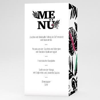 Menükarten Hochzeit - Natur - 0