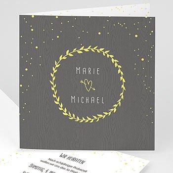 Hochzeitseinladungen Tafelkreide - Hochzeitsdeko - 0