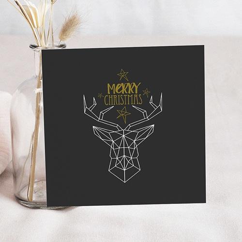 Weihnachtskarten - Motiv Hirsch 50642