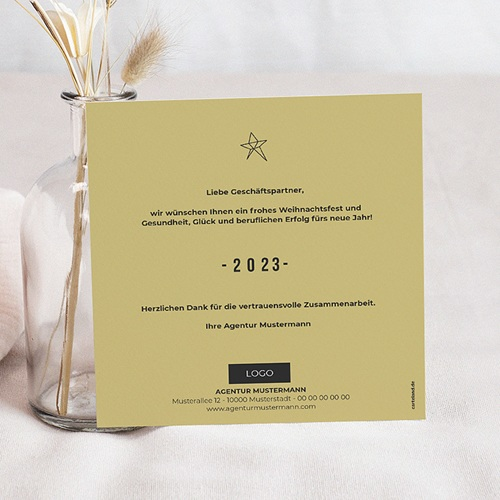 Weihnachtskarten - Motiv Hirsch 50643 preview