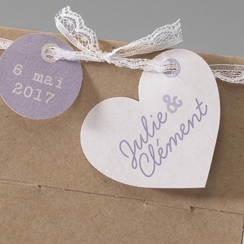 Hochzeitseinladungen traditionell - Kraftkarton 50663 preview