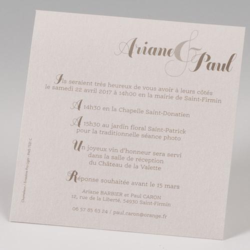 Hochzeitseinladungen traditionell - Mehrsprachig 50672 preview