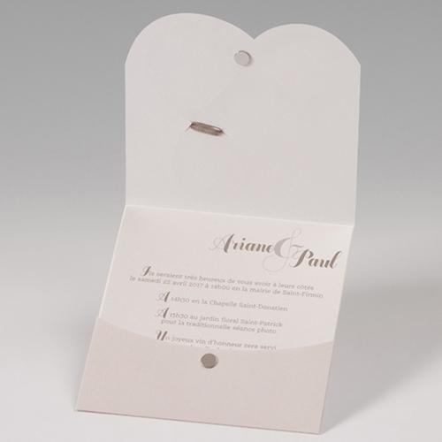 Hochzeitseinladungen traditionell - Mehrsprachig 50673 preview