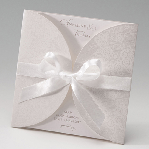 Hochzeitseinladungen traditionell - Korsett 50684