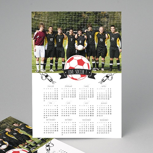 Werbekalender  - Fussball 50700 thumb