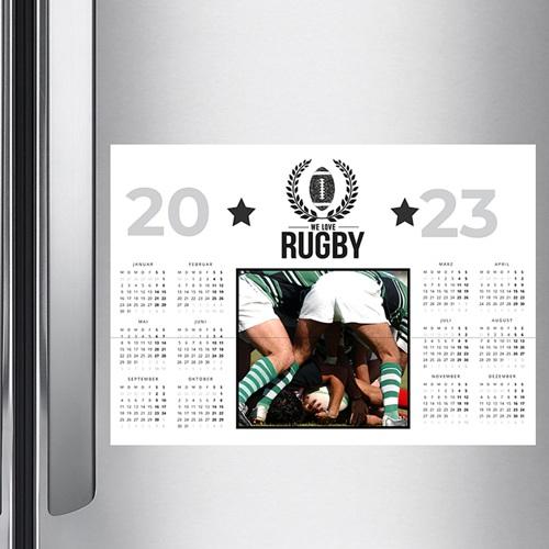 Werbekalender  - Rugby Klub 50707 test