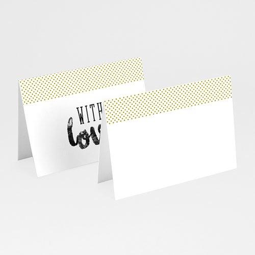 Tischkarten Hochzeit - Vintage Just married 50741 test