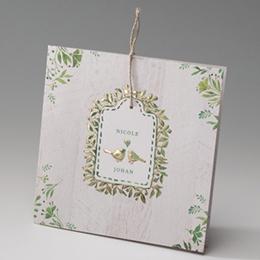 Hochzeitseinladungen traditionell - Turteltauben - 2