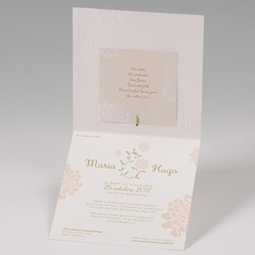 Hochzeitseinladungen traditionell - Zart 50811 preview