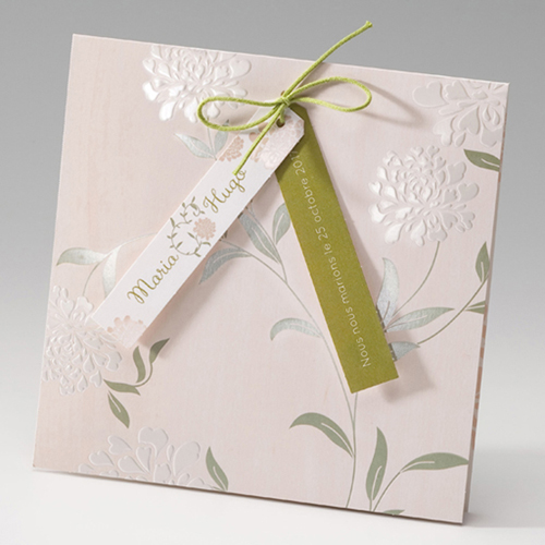 Hochzeitseinladungen traditionell - Zart 50812