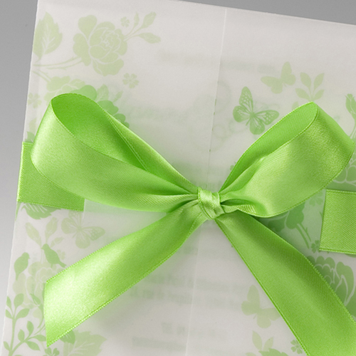 Hochzeitseinladungen traditionell - Lindgrün 50816 preview