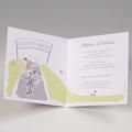 Hochzeitseinladungen traditionell - Fahrrad 50822 thumb