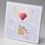 Hochzeitseinladungen traditionell - Ballon 50828 thumb